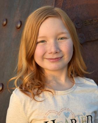 Aislinn A. - Age: 9