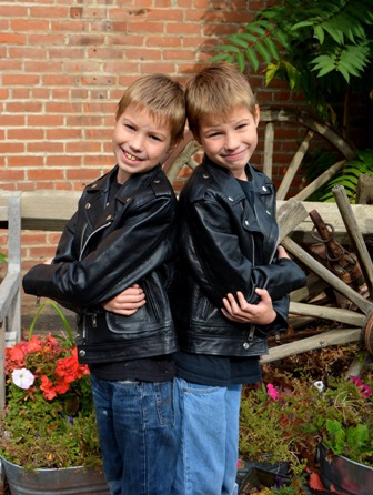 Chase & Chance G. - Age: 12